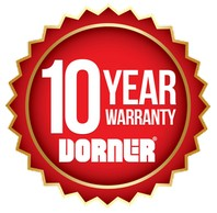 Dorner Conveyors 10 Year Warranty