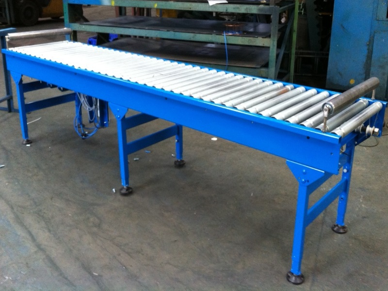 Lineshaft Powered Roller Conveyors