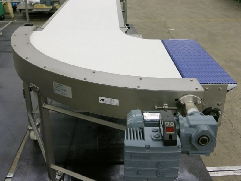 Stainless Belt Conveyor Bend