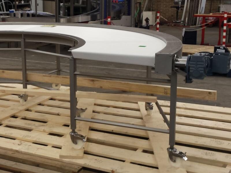PVC Belt Conveyor Bends