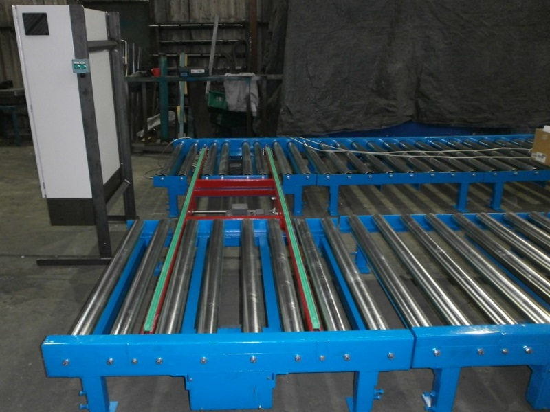 Powered Pallet Roller Conveyors