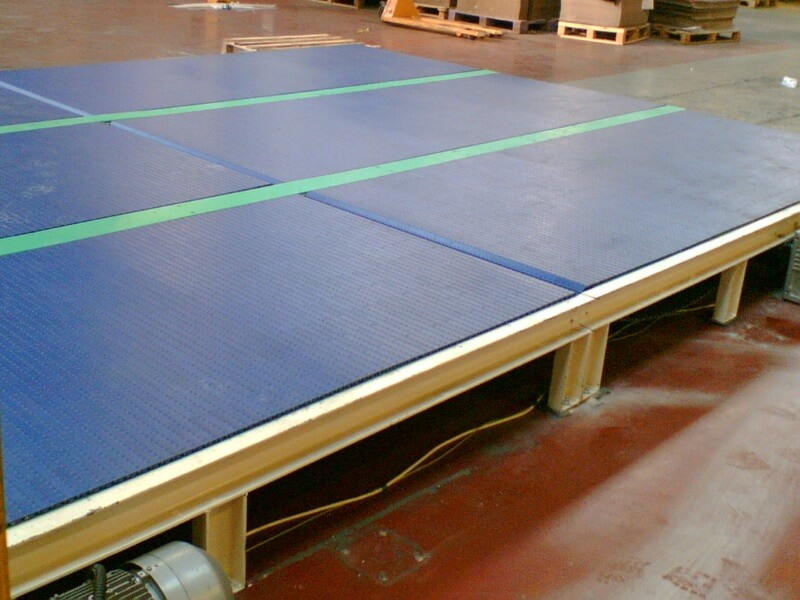 Wide Modular Belt Conveyor
