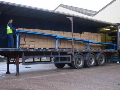 Gravity Truck & Container Unloading Conveyors