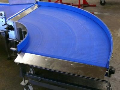 Modular Conveyor Belt Curves