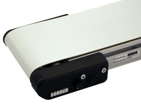 Miniature i-Drive belt conveyor.