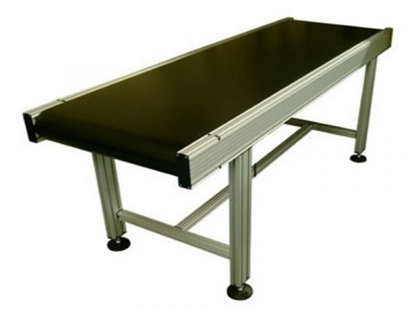 Type 120 belt conveyor on H-frame stand.