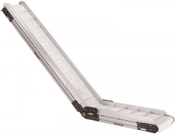 Pu And PVC Belted Elevating Conveyors