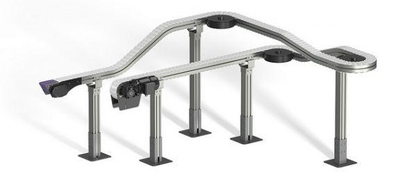 FlexMove conveyor with stands.