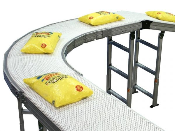 Wide Modular Conveyor Belt Systems