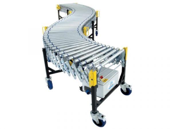 Powered Flexible Expanding Roller Conveyors