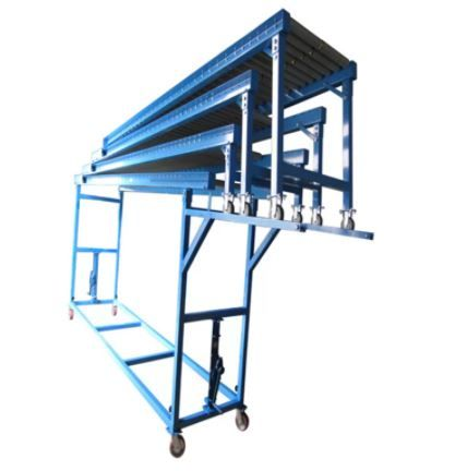 Gravity Vehicle Unloading Conveyor