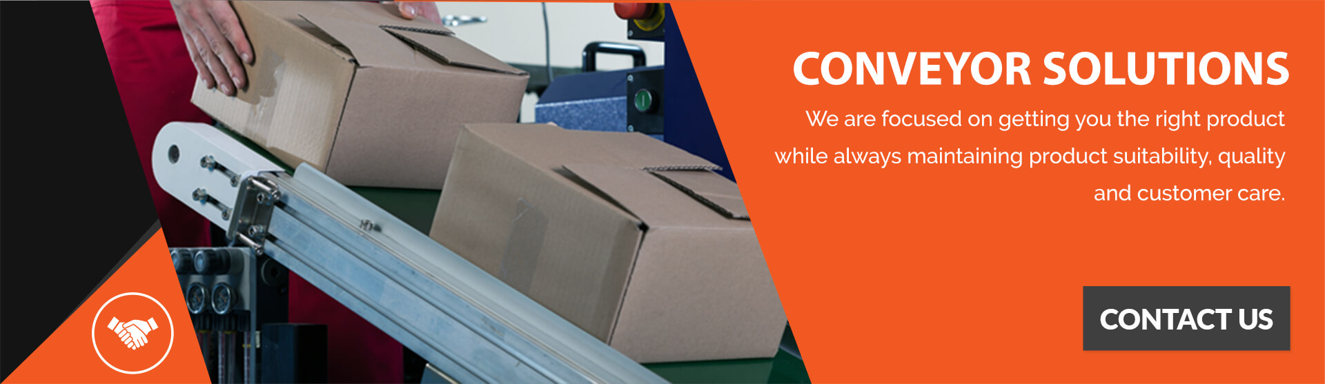 Contact AS Conveyor Systems