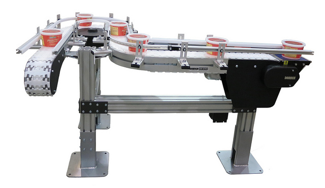 Narrow Flexible Conveyor System