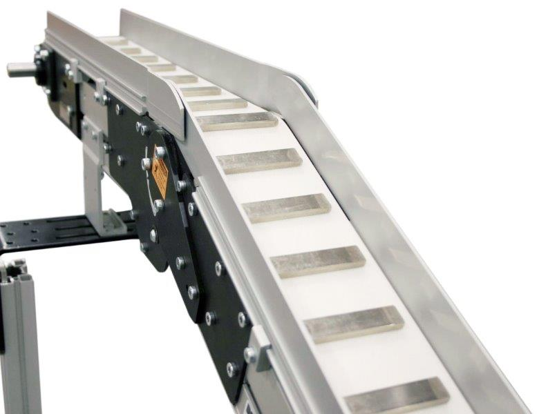 Elevating Magnetic Belt Conveyor