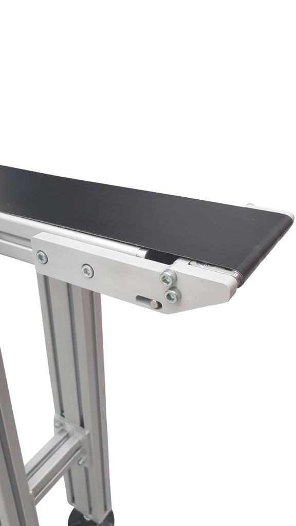 Low profile economy conveyor belt system