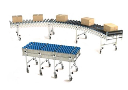 UK suppliers & manufacturers of belt conveyors & roller conveyor systems